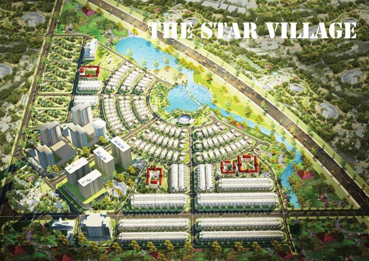 Logo thestarvillage.com.vn